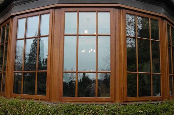 Деревянные окна - фото 19