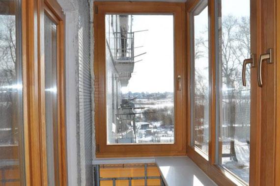 Деревянные окна - фото 18
