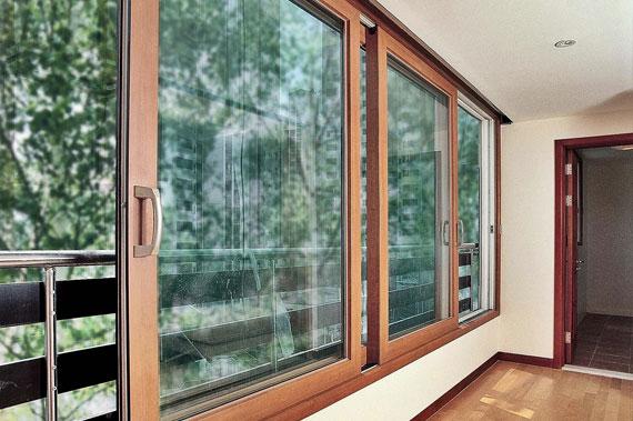 Алюминиевые окна - фото 4