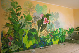 Роспись масляными красками