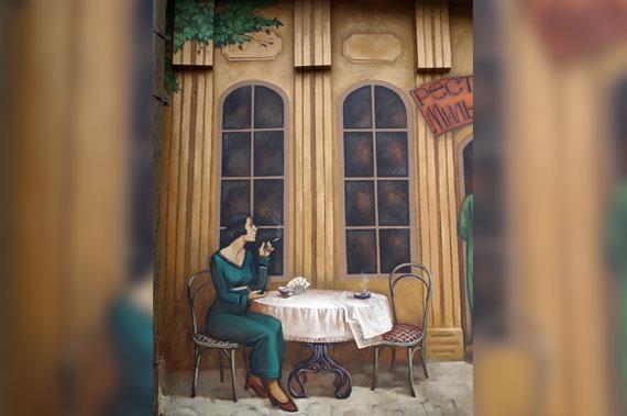 Художественная роспись стен - фото 1