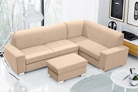 Химчистка угловых четырехместных диванов