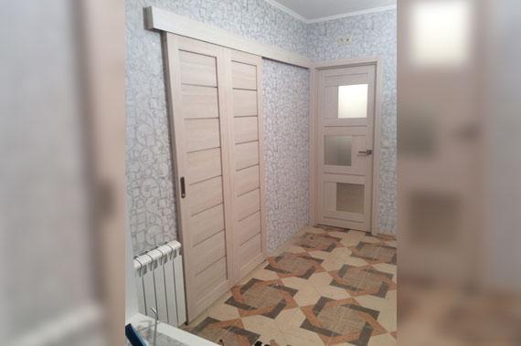 Установка дверей под ключ - фото 1