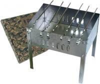 Мангал Boyscout 350x250x350 / 61235 (+ 6 шампуров)