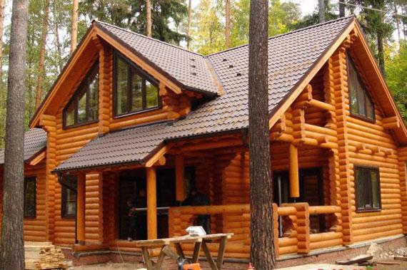 Деревянный дом - фото 2