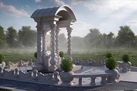 Мемориальные комплексы из натурального камня