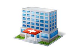 Медицинские учереждения (больницы, поликлиники, госпитали)