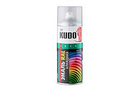 Аэрозольная эмаль Kudo