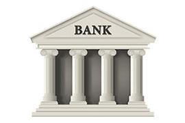 В банке