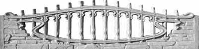 Панель верхняя «скала-булыжник»